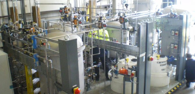 Water Treatment System with Cussons